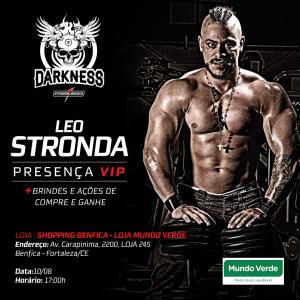 30a9251ba Youtuber Leo Stronda presente na inauguração da loja Mundo Verde do ...