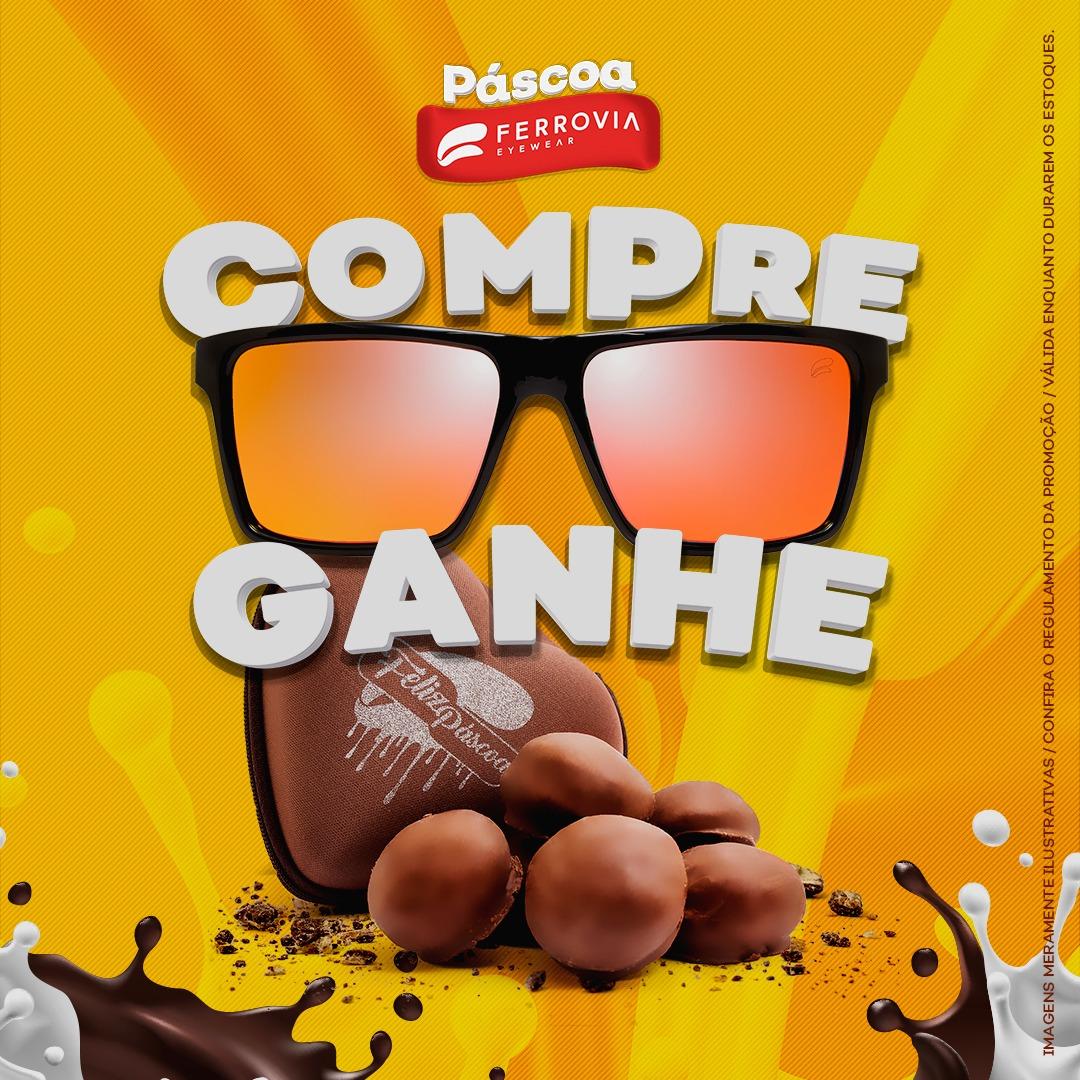 Ferrovia Eyewear presenteia seus clientes com chocolates - Layout 73a86dc673