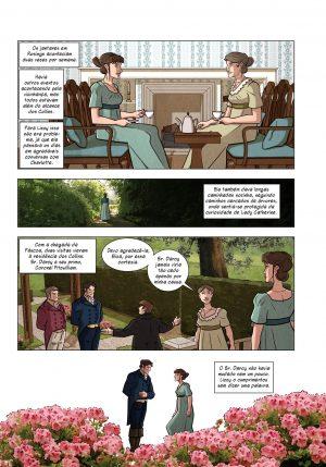 Página da graphic novel