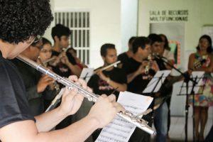 Orquestra de Flauta Transversal da Universidade Estadual do Ceará (Foto: divulgação)