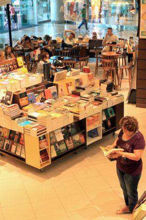 Livraria Saraiva (Foto: Edimar Soares, em 16/08/2011)