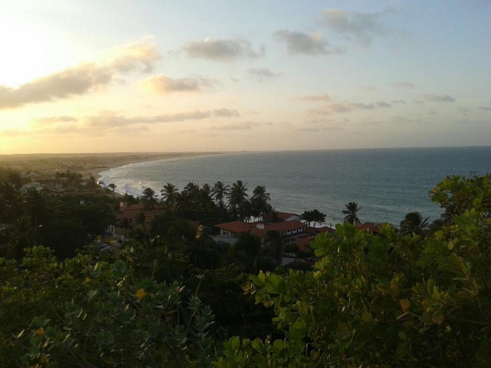 Vista do mirante da praia da Taíba ( Foto: Natália Fonteles)