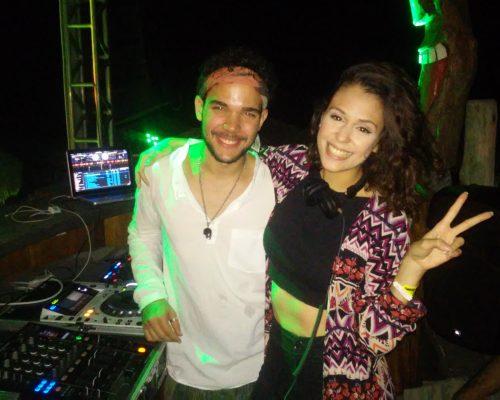 DJ Felipe e DJ Suely Evans