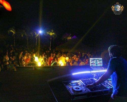 DJ David Fiuza - Flower power/ Foto: Olivardo Vasconcellos