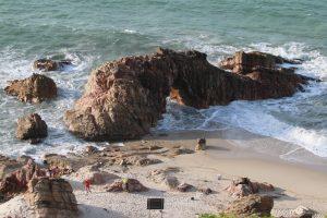 Pedra furada de Jericoacoara (Foto: Fábio lima / Jornal O POVO)