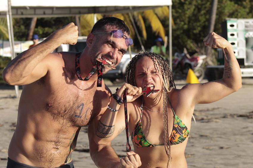Festival de Esportes Aquáticos de Amontada/ Campeões Emílio Tavares e Kílvia