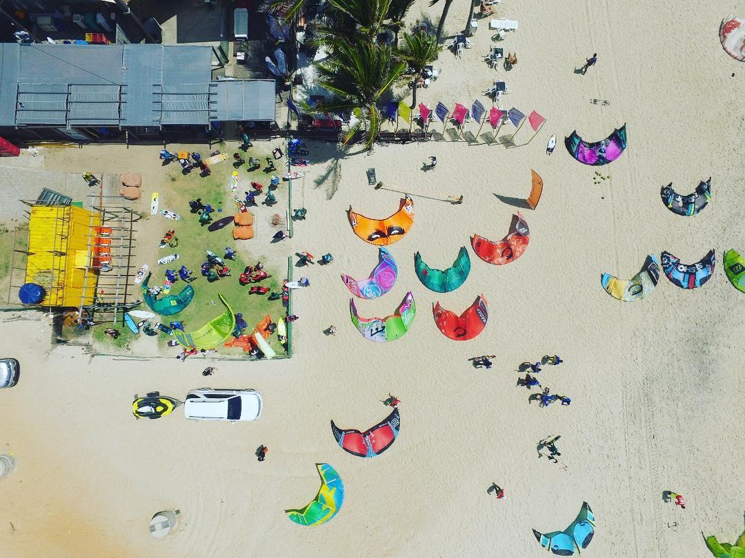 kitesurfe:  Largada acontecerá na barraca de praia Guardaria, na praia do Futuro.