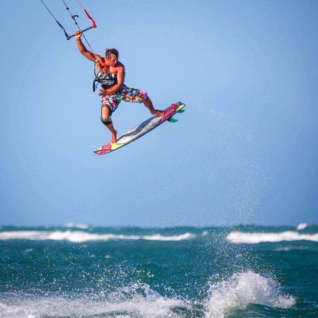 Rafael Costa é atleta profissional da Eleveigh Kites e também compete profissionalmente