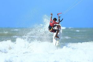 O atleta Marcos Antônio vai estar presente no Ceará Kite Pro