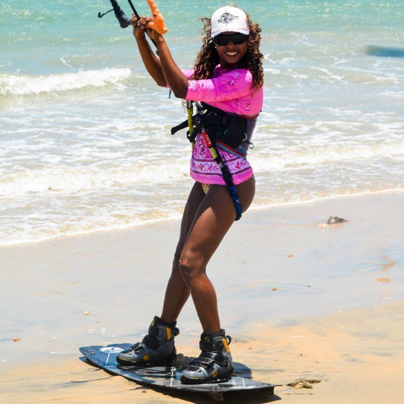 Estefânia Rosa - kitesurf