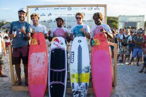 Vencedores do Ceará Kite Pro 2018. : @airtoncozzolino (ITA) 2: @camille_delannoy (FRA) 3: @jamesscarew (AUS) 4: @mitumonteiro (CV) Foto: Ydwer