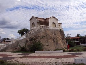 """Chalé da Pedra, construído em 1920, cenário do filme """"Área Q"""""""