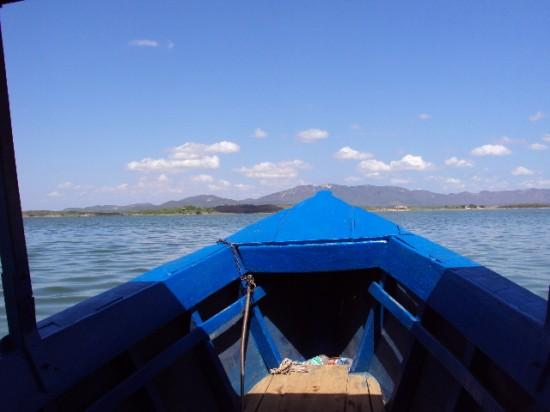 A travessia para a ilha