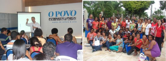 Professores de Cabo Verde visitam O POVO (clique para ampliar)