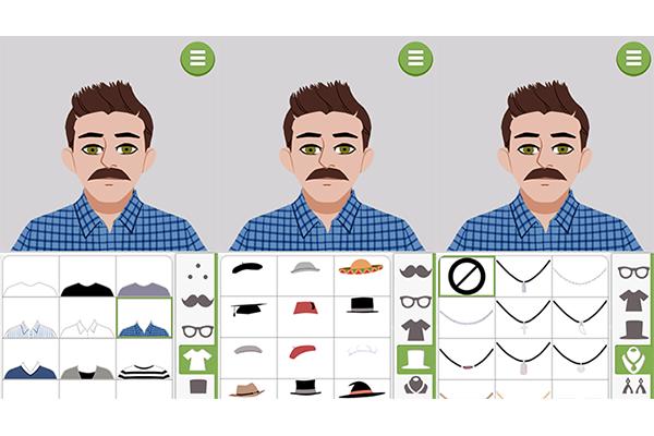 6. Selecione a roupa conforme o seu estilo e caso queira, adicione acessórios extras, como chapéus e brincos