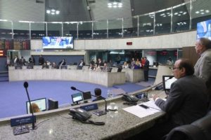 18 dos 46 deputados estaduais são hoje pré-candidatos a prefeituras (Foto: Júnior Pio/AL-CE)