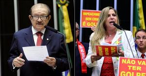 Mauro Benevides e Luizianne Lins foram os únicos cearenses a abandonar a disputa (Divulgação/Agência Câmara)