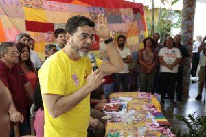 João Alfredo pede participação nos debates. Foto: Tatiana Fortes/O POVO