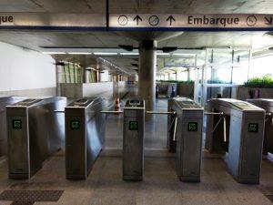 Sistema eletrônico de bilhetagem começa a ser testado no Metrô de Fortaleza (FOTO: DIVULGAÇÃO)