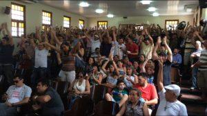 Categoria reivindicava o bônus em greve deste ano (Foto: Divulgação)