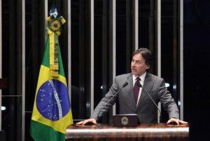 Eunício Oliveira é o nome de Temer para a presidência do Senado (Foto: Agência Senado)