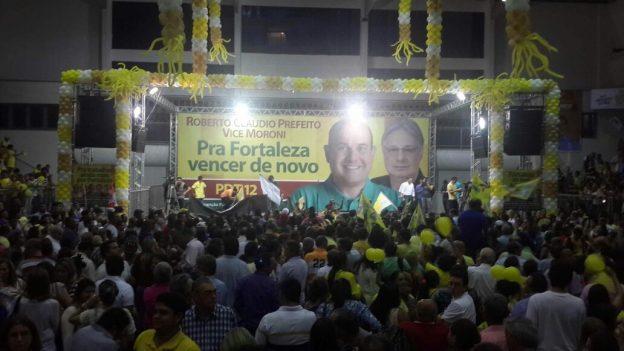 Roberto Cláudio é o último nome a oficializar a candidatura na Capital. Foto: Isabel Filgueiras