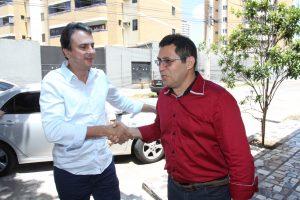 Governador Camilo Santana (PT) não compareceu à convenção da candidatura de Luizianne
