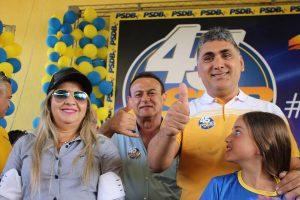 Dona Bill é vice na chapa do prefeito Antônio Cláudio (Foto: Reprodução / Facebook)