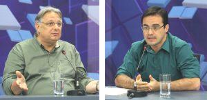 Moroni Torgan e Capitão Wagner foram os candidatos mais votados em Fortaleza nas eleições de 2014 (Foto: Rodrigo Carvalho/O POVO)