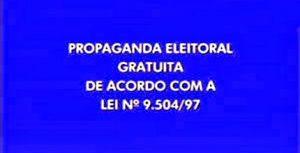 Propaganda Eleitoral Gratuita (Foto: Divulgação / TRE)