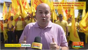 Roberto Cláudio faz convite para a inauguração (Foto: Divulgação / Facebook)