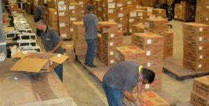 Urnas eletrônicas começam a ser distribuídas para o interior do Estado (Foto: Divulgação)