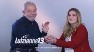 Lula participa de programa da ex-prefeita Luizianne (Foto: Divulgação / Campanha)