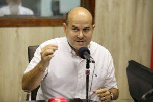 Sabatina com o candidato Roberto Cláudio (Foto: Fabio Lima/O POVO)