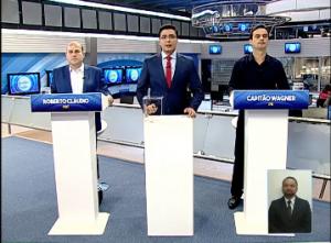 Debate na TV Cidade foi o penúltimo do 2° turno (Foto: Reprodução / Facebook)