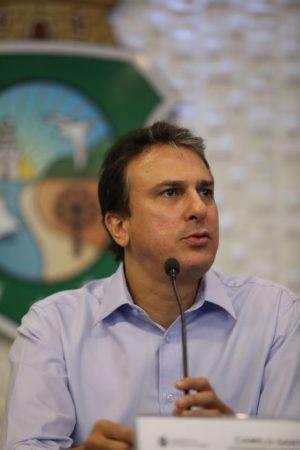 Camilo lamenta morte de ministro (Foto: Fábio Lima/O POVO)