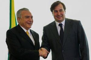 Rodrigo Maia vem a Fortaleza no dia 20 em campanha para a presidência da Câmara (Foto: Agência Brasil)