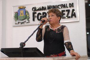 Vereadora Bá teria até quitado contas de água e luz de eleitores, diz juiz (Foto: Divulgação/CMFor)