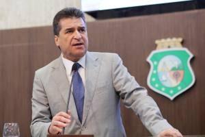João Jaime, representante do DEM na AL-CE, passa a compor base de Camilo (Foto: Divulgação / AL-CE)