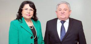 Nailde Pinheiro e Haroldo Correia Máximo serão empossados nesta segunda-feira (Foto: Divulgação)