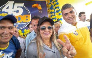 Dona Bill é vice-prefeita de Aracoiaba (Foto: Divulgação)
