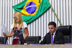 Pedido de urgência para criação de cargos comissionados foi lido nesta quarta-feira (Foto: Divulgação)