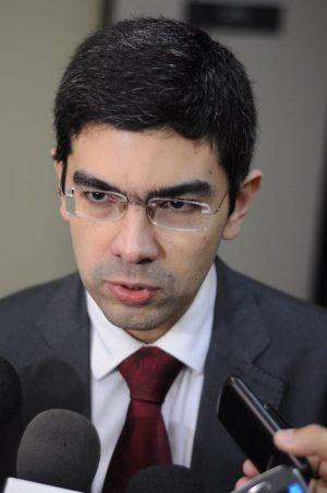 Rômulo Conrado foi escolhido novo procurador-chefe do MPF-CE (Foto: Camila de Almeida/O POVO)