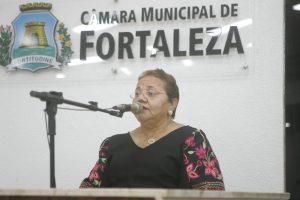 Vereadora quer cota para mulheres em concursos de Fortaleza (Foto: Divulgação/CMFor)