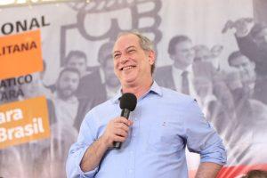 Em entrevista, Ciro disse ter qualidades procuradas por simpatizantes de Bolsonaro (Mariana Parente/ Especial para O POVO)