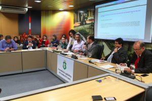 Comissão manteve comarcas em municípios do Interior (Divulgação/AL-CE)
