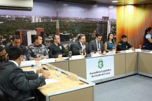Secretário participou de audiência sobre homicídio de policiais e guardas na AL (Foto: Divulgação)