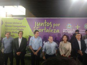Reunião é nova mostra pública da reaproximação entre Eunício e a base aliada no Estado (Foto: Letícia Alves/O POVO)