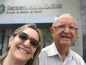 Filha do prefeito, Joana Batista já foi prefeita de Paraipaba (Foto: Reprodução)