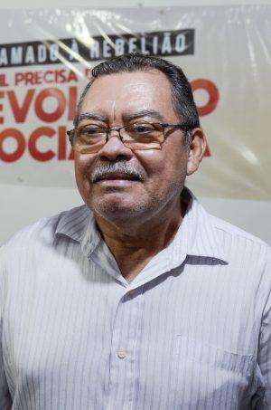 Francisco Gonzaga, do PSTU, um dos partidos mais à esquerda na disputa eleitoral